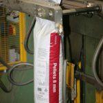 Pelletstillverkning säckförslutning