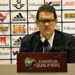 Fabio Capello presskonferens
