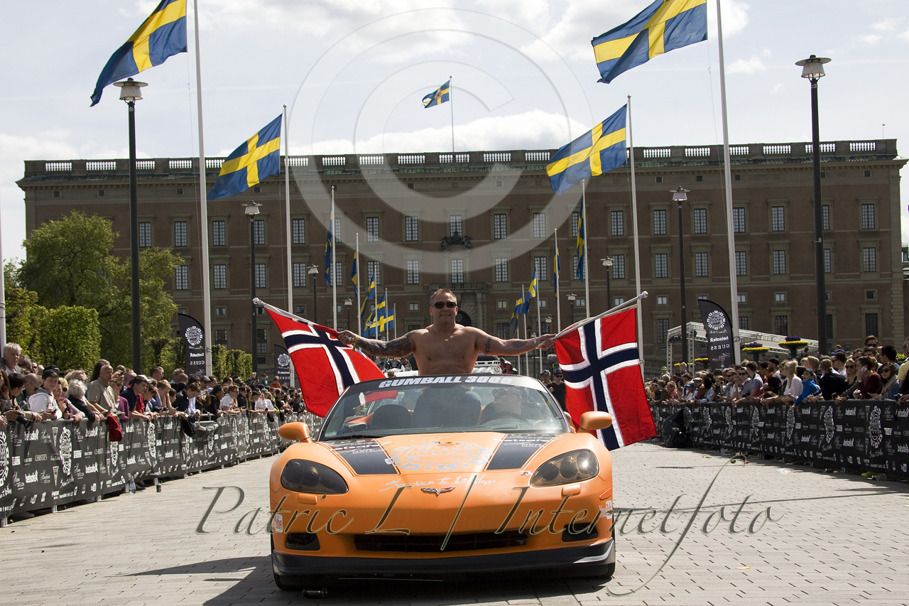 Gumball 3000 Busrally Startar Idag Fr 229 N Norrbro I Stockholm