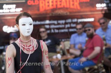 Manifestation mot kvinnovåld