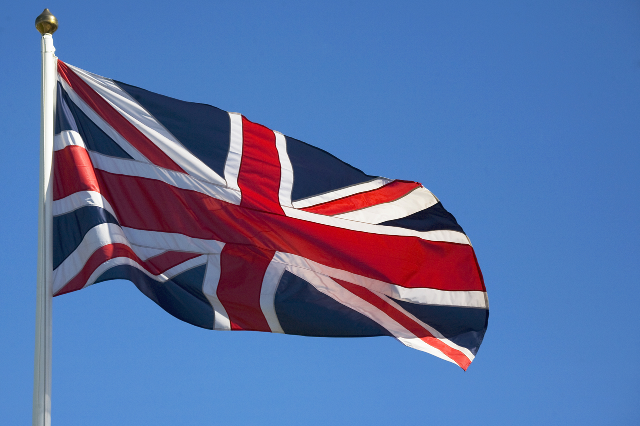 Union Jack, Englands flagga