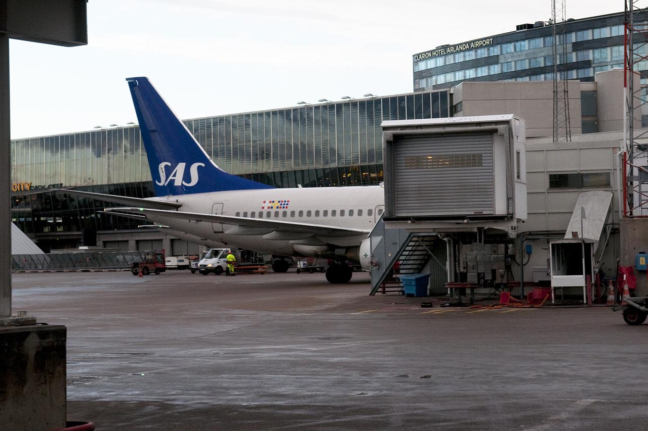 SAS plan till Kiruna