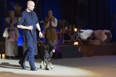 Attack, årets polishund 2017