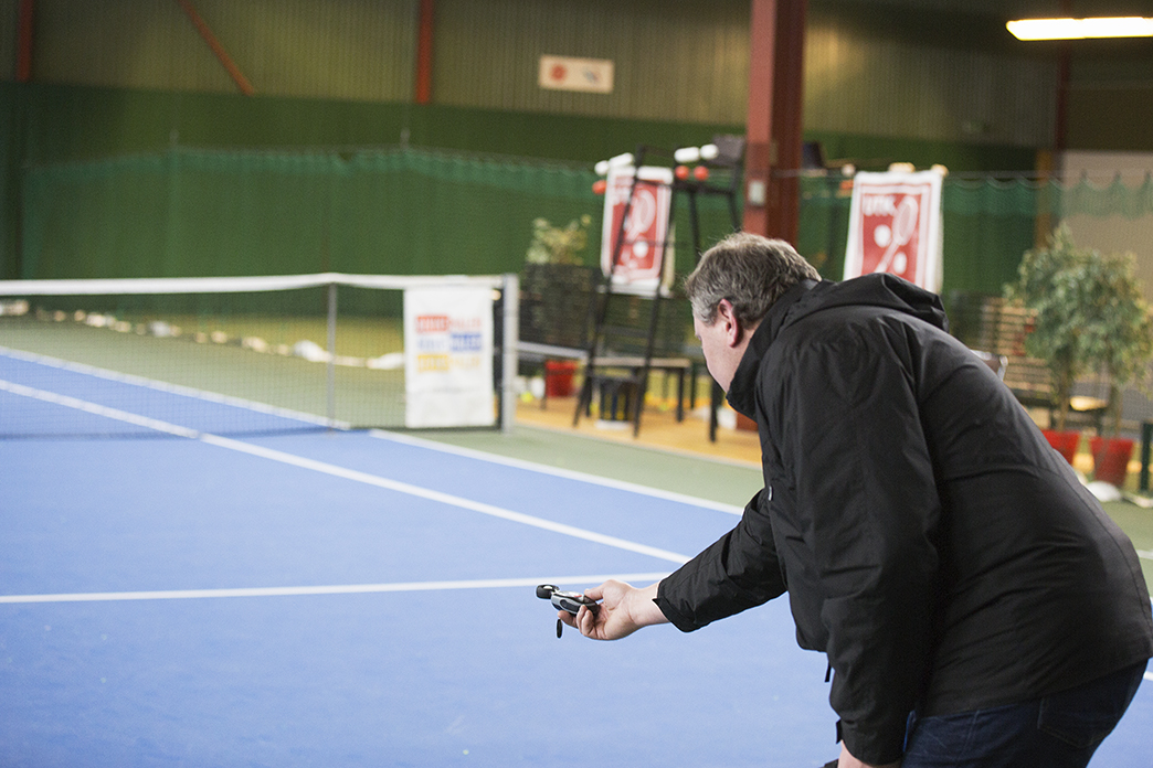 Ljusmätning tenisbana