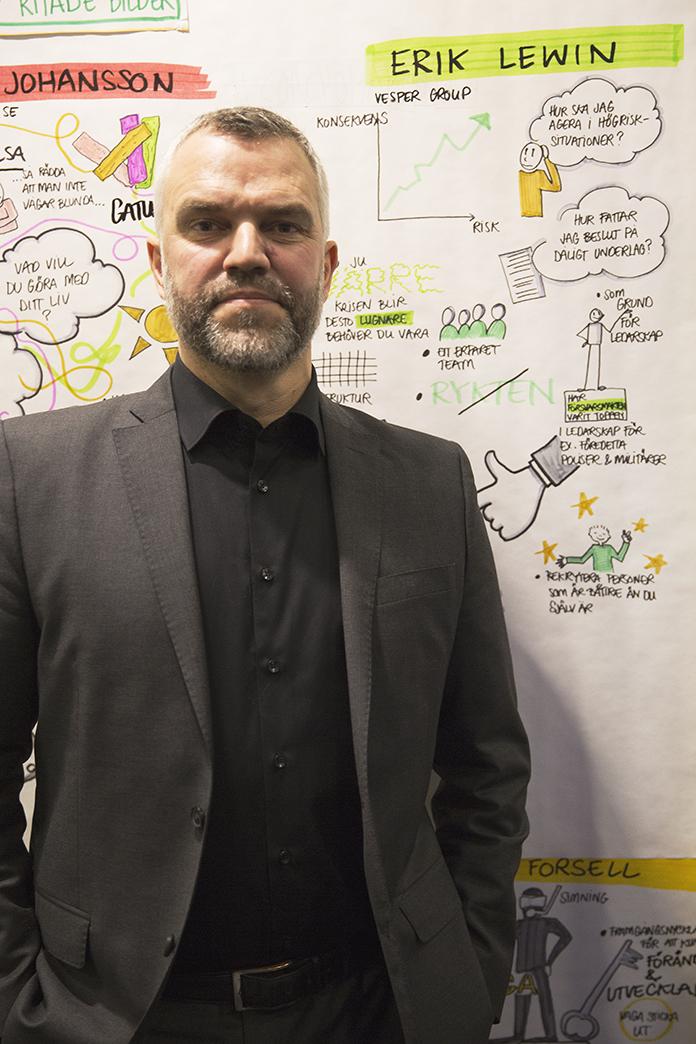 Erik Lewin, VD Vesper Group AB