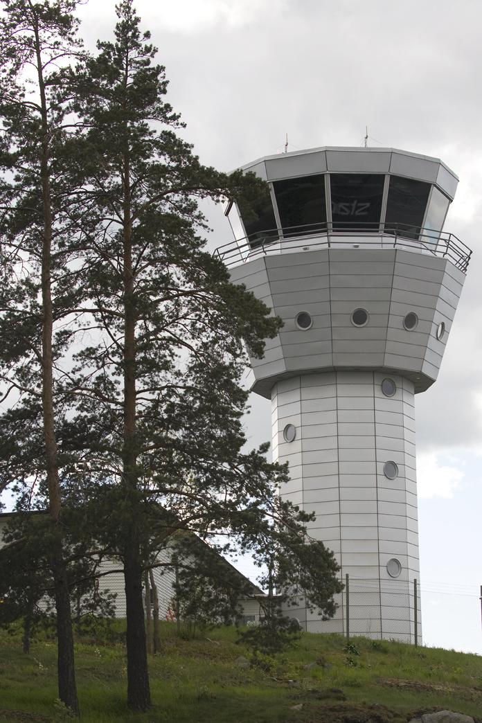 Trafikledartorn Bromma flygplats
