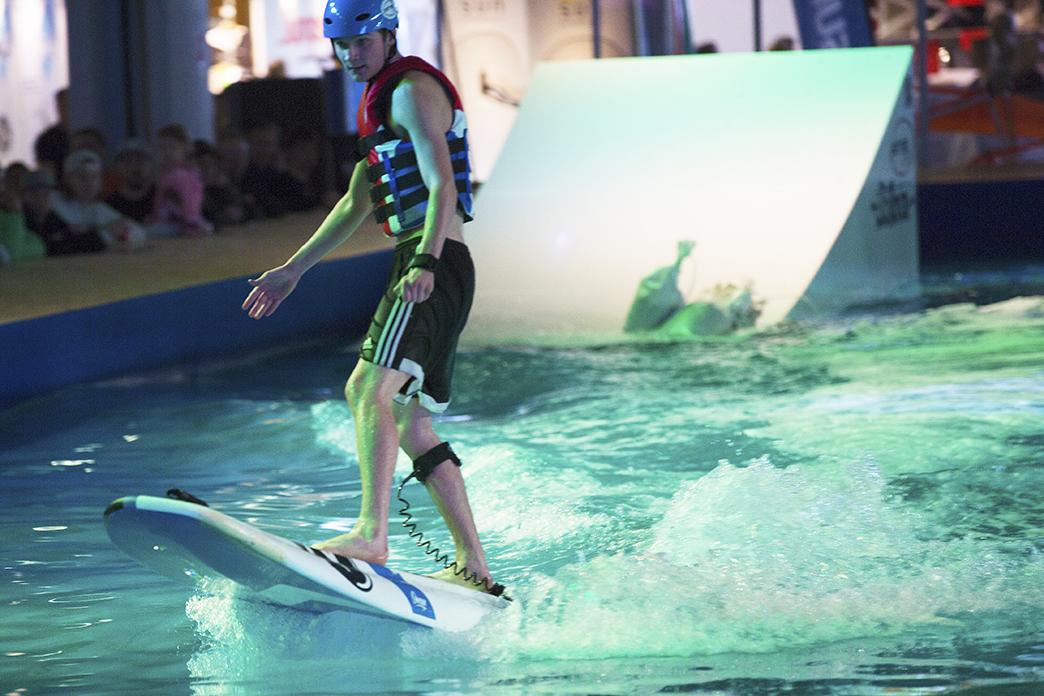 Surfar på vågen