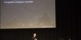 Föreläsning på Stockholmsmässan om Astrofoto