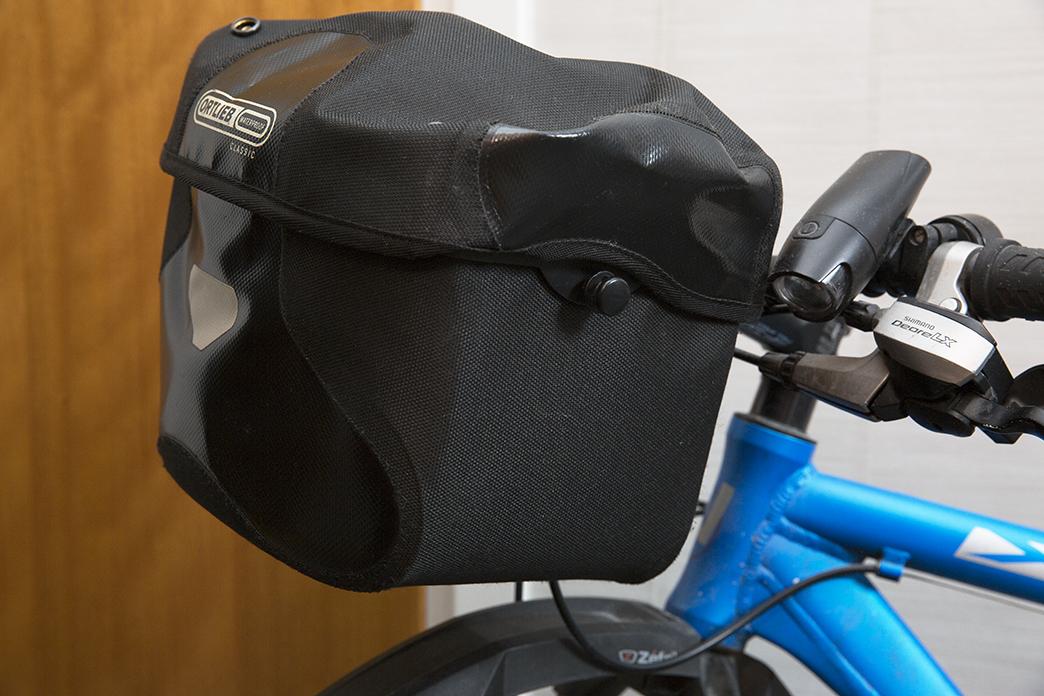 Ortlieb vattentät cykelväska för styret
