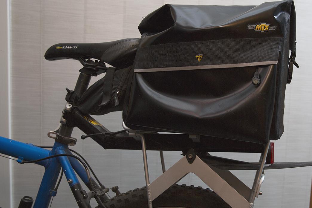 MTX vattntät cykelväska för pakethållare