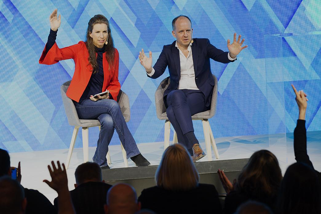 Thomas Ekman och Beata Wickbom