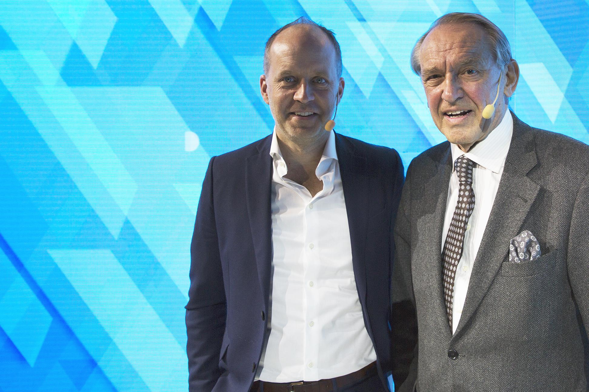 Thomas Ekman och Jan Eliasson