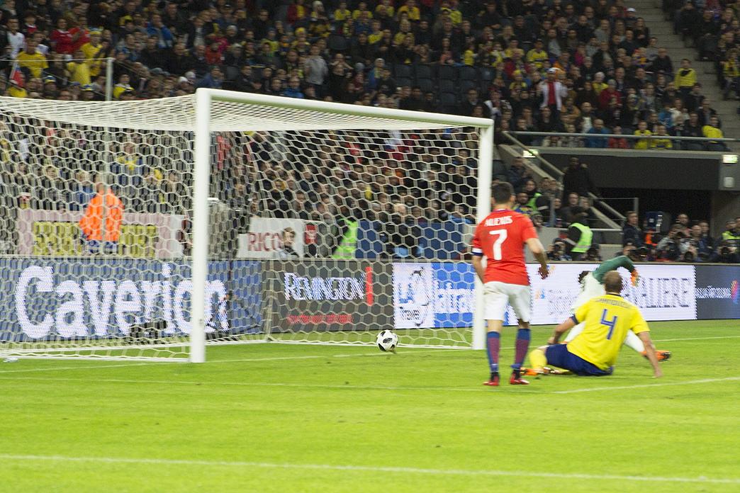 Chilensk mål i slutminuten