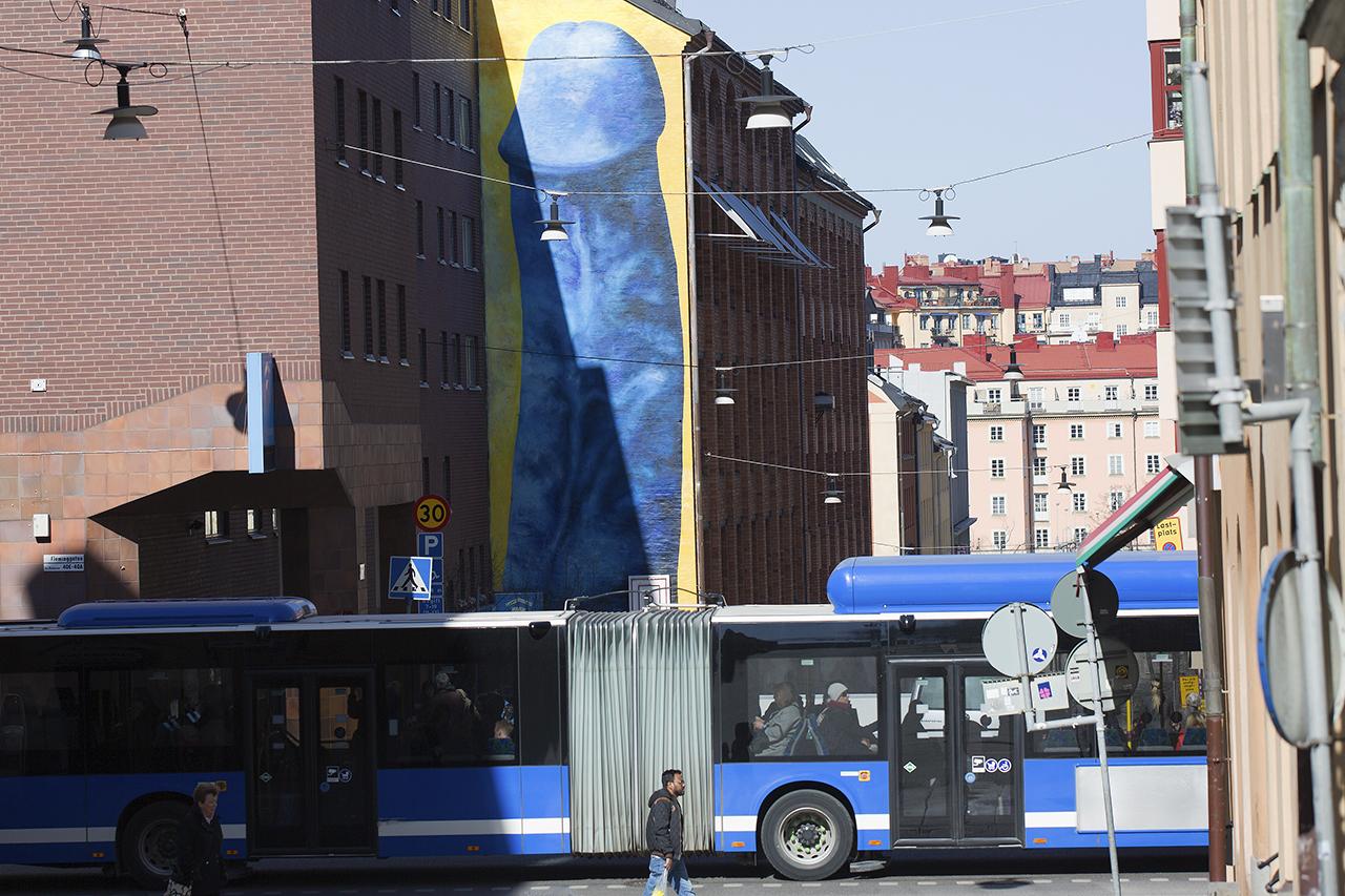 9bfcbddf4af Fuck The World Uppståndelse på Kungsholmen