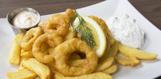Lunch calamares