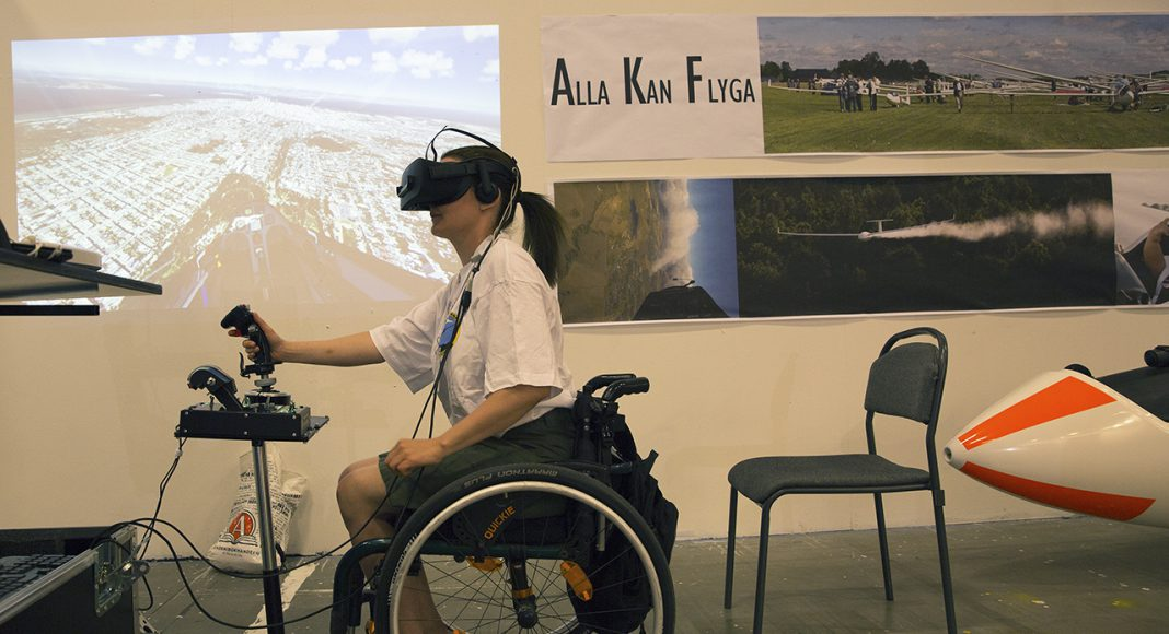 VR-flygning