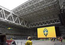 Halvöppet tak Tele2 arena