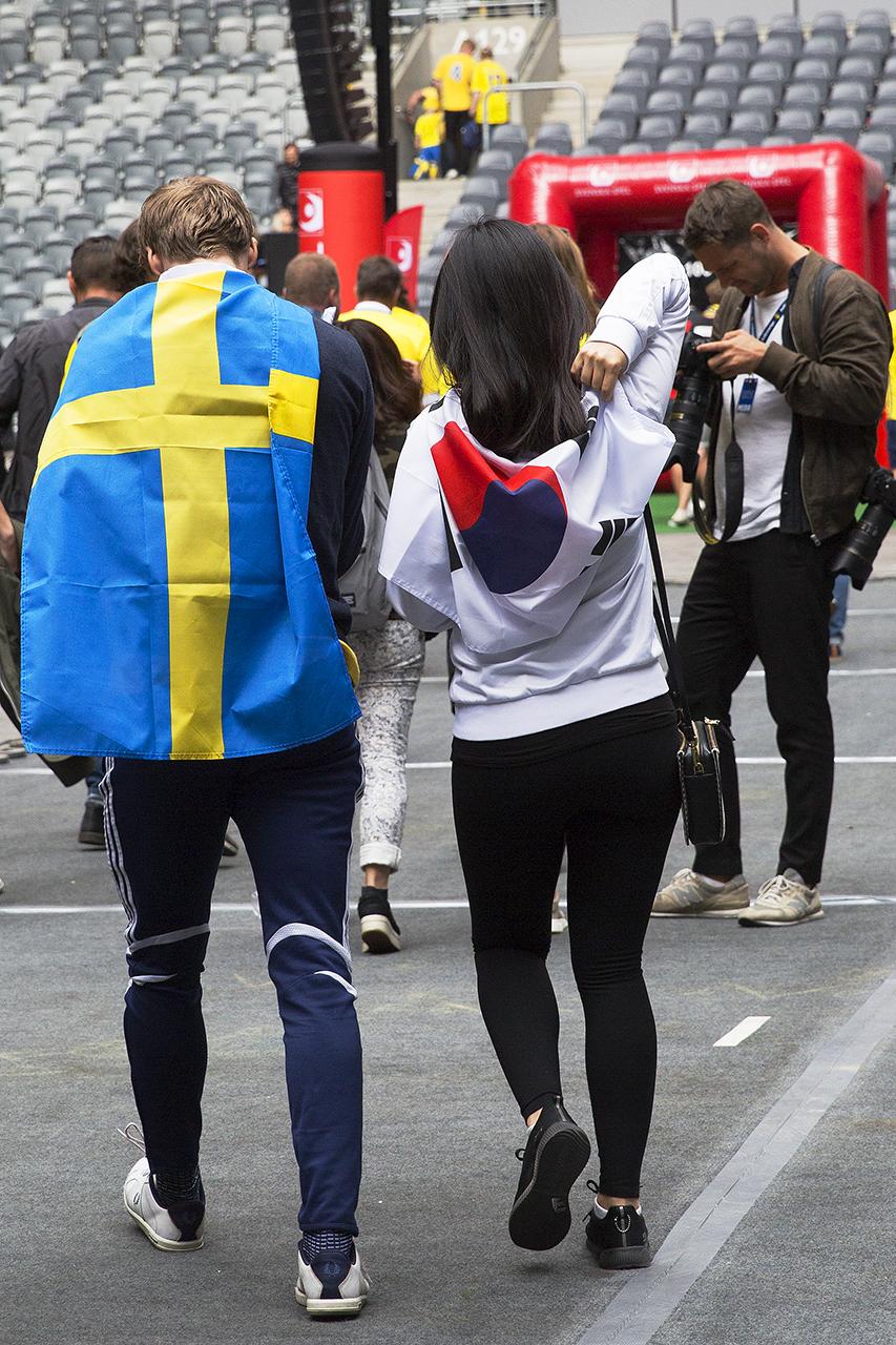 Sverige - Sydkorea