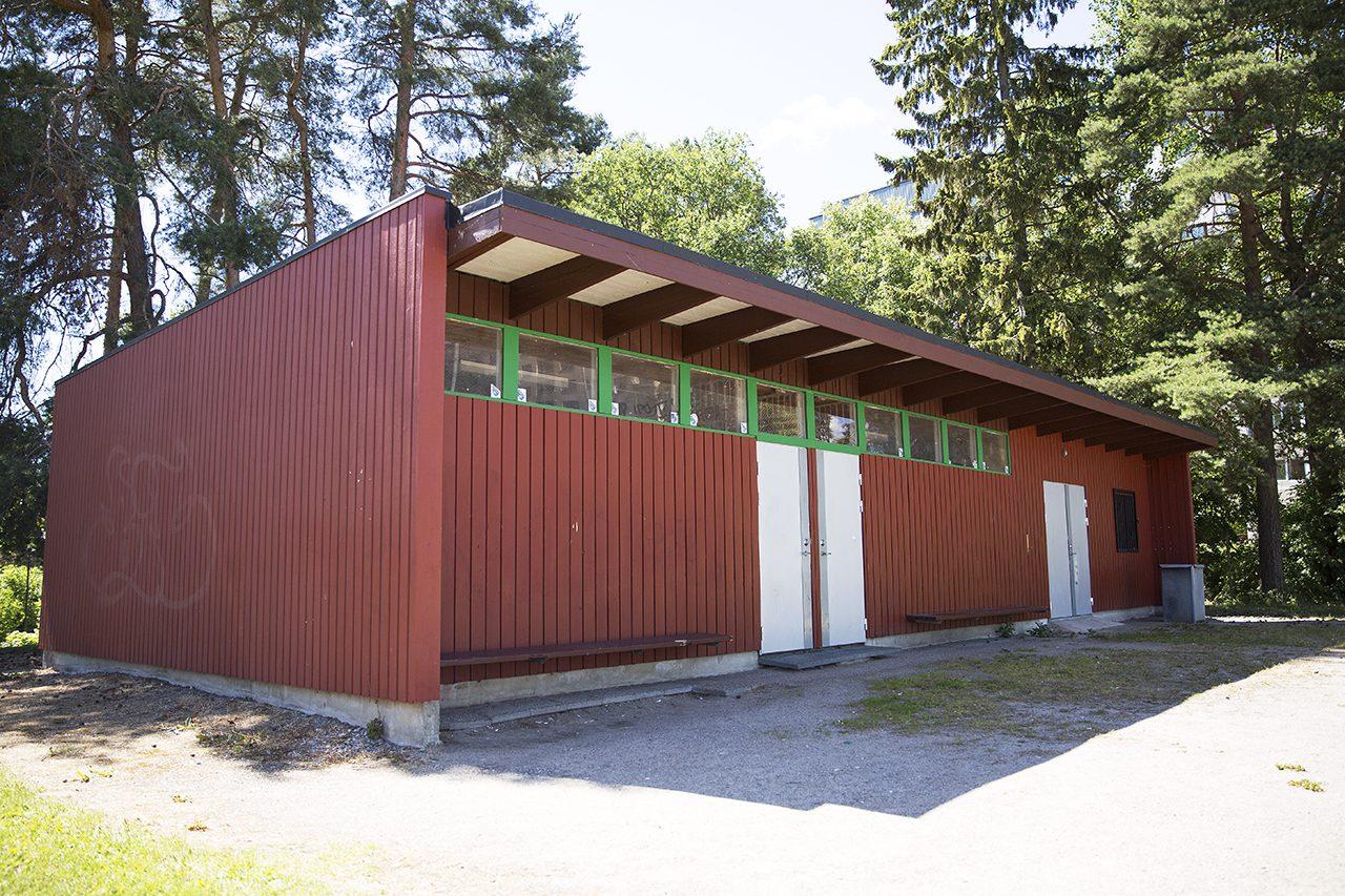 Omklädningsrum Bredängs BP