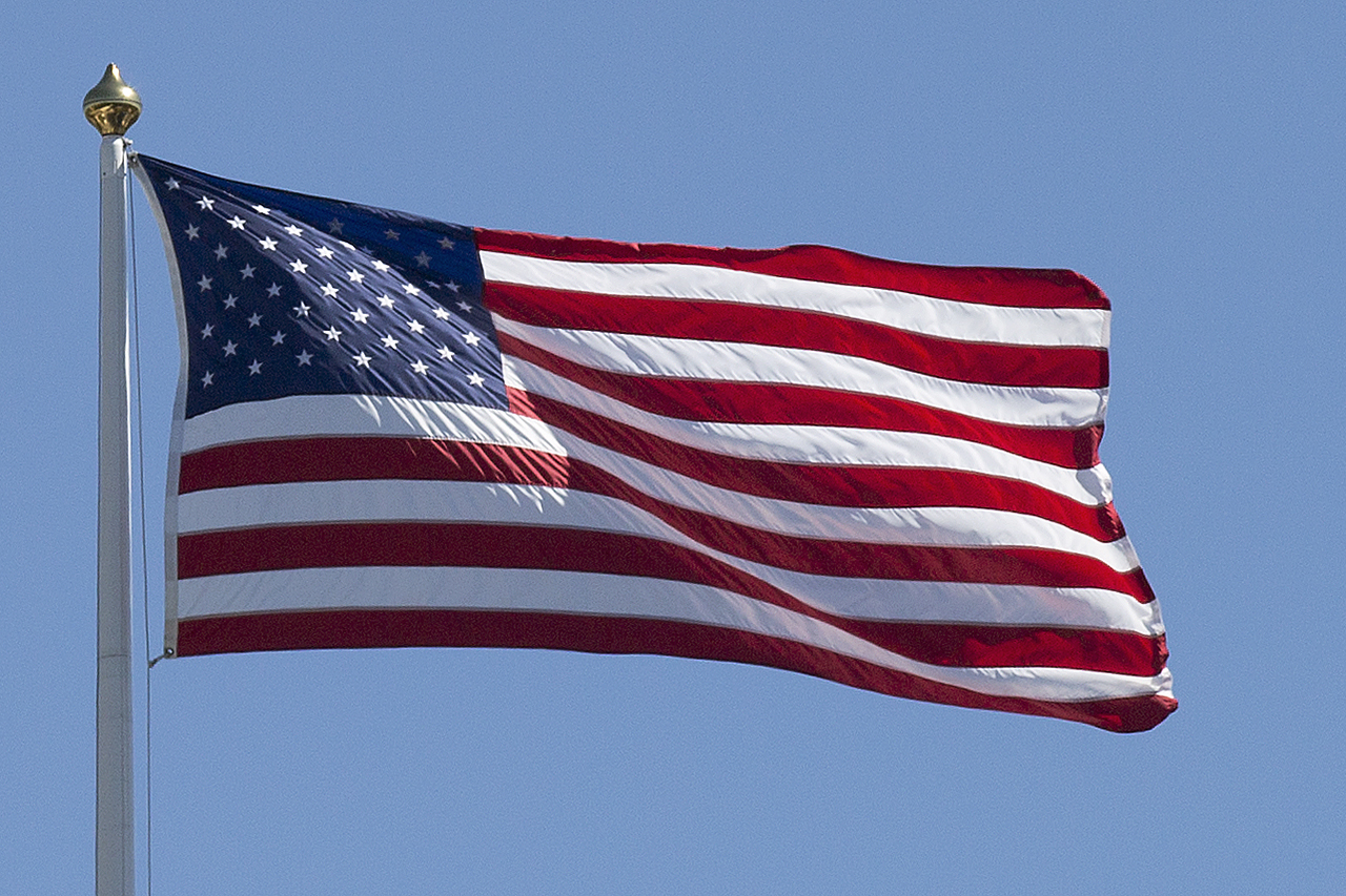 USA flagga Stars and Stripes