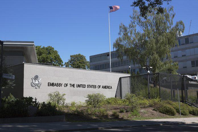 USA ambassad i Stockholm