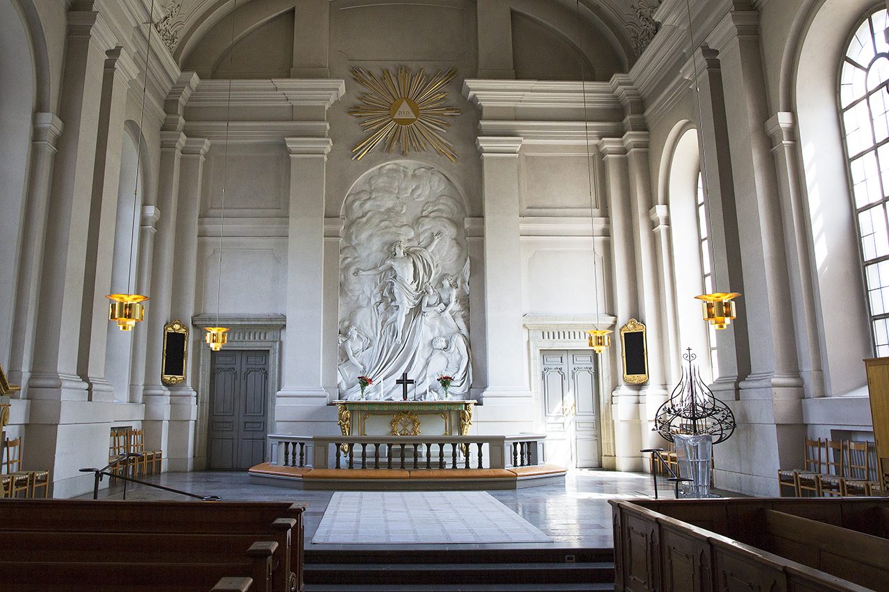 Altartavla i adolf Fredriks Kyrka