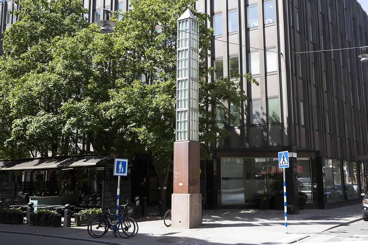 Obelisk Kammakargatan / Luntmakargatan