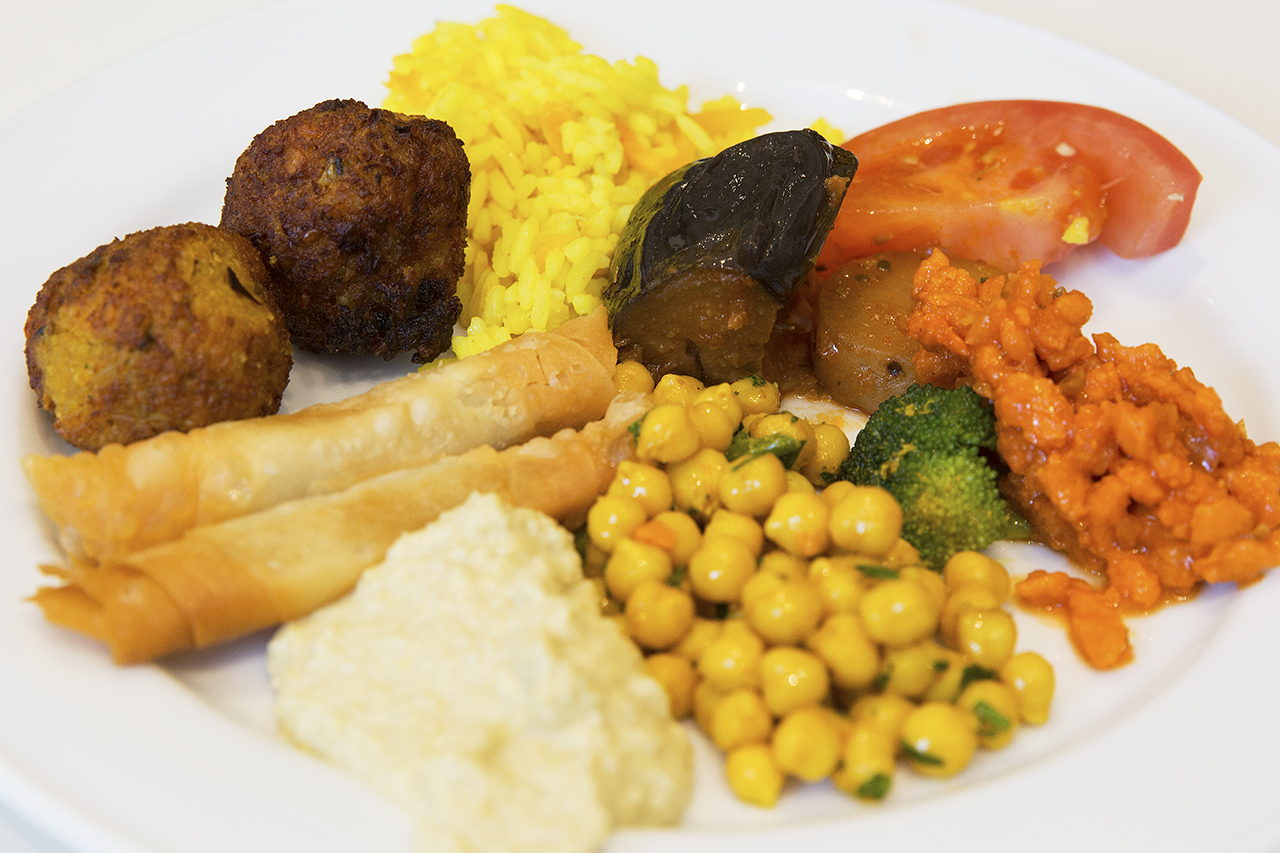vegetarisk portion