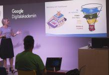 Google workshops i popup-butik