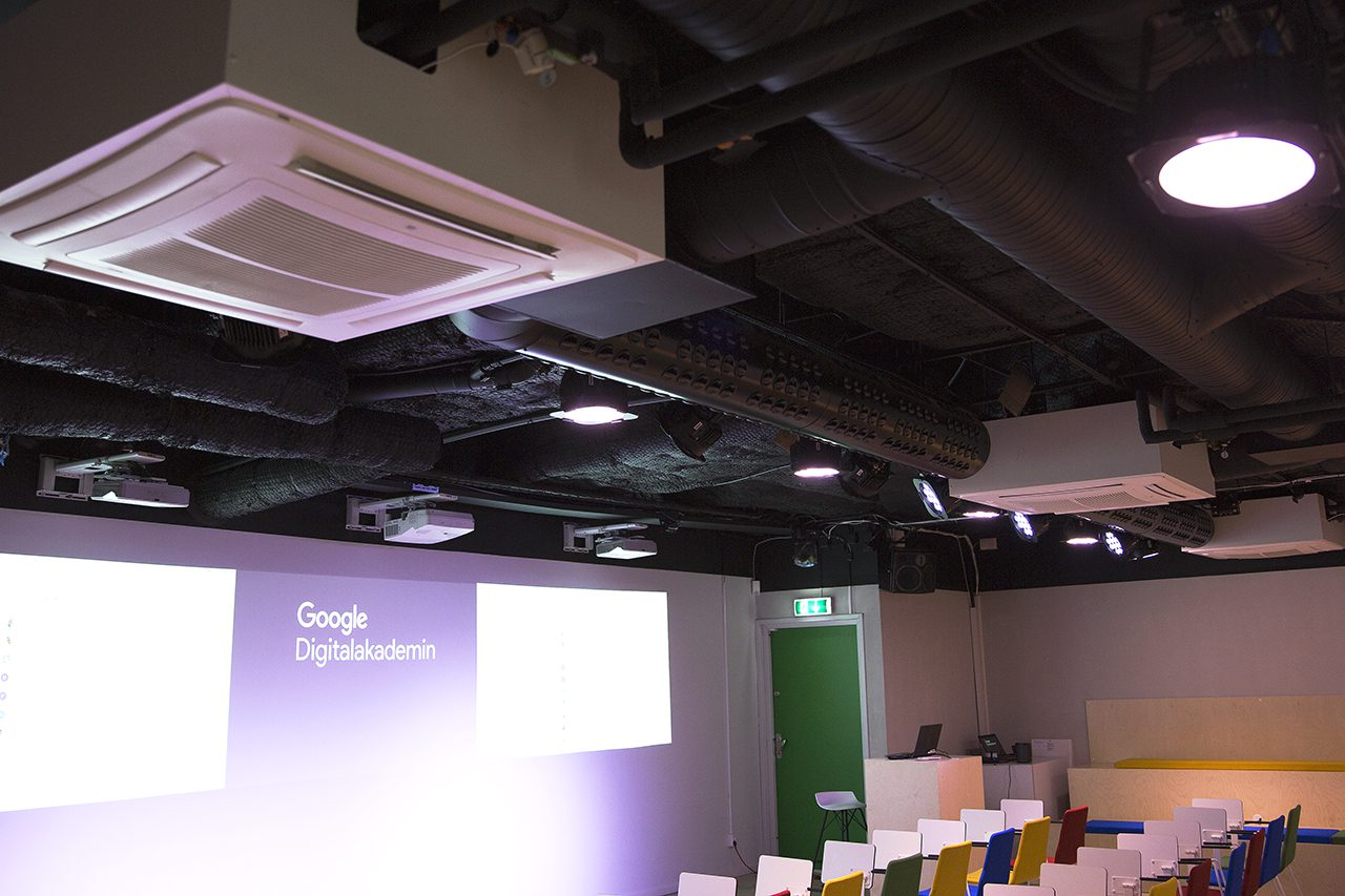 Klimatanläggning Google Digitalakademin