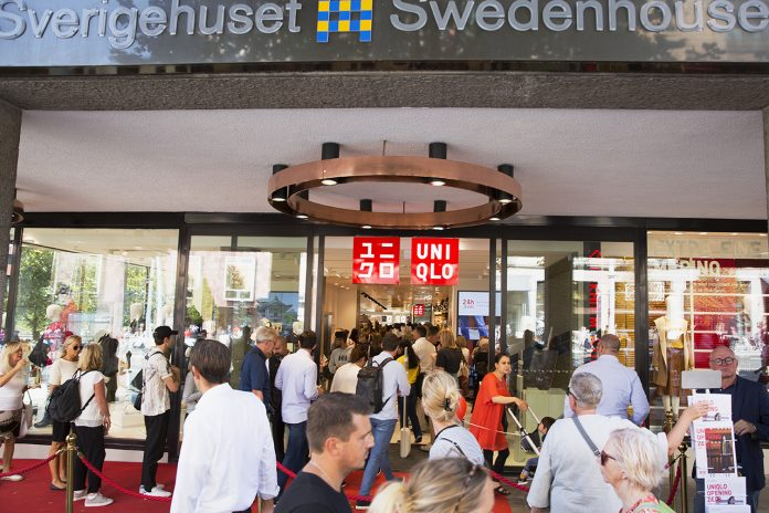 Premiär Uniqlo Stockholm.