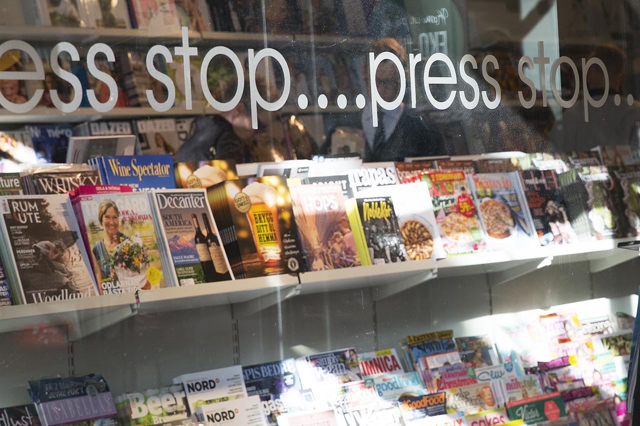 Press Stop tidningsaffär