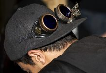 Steampunk googles