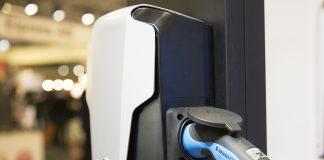 Laddbox för optimal elbilsladdning i hemmiljö.