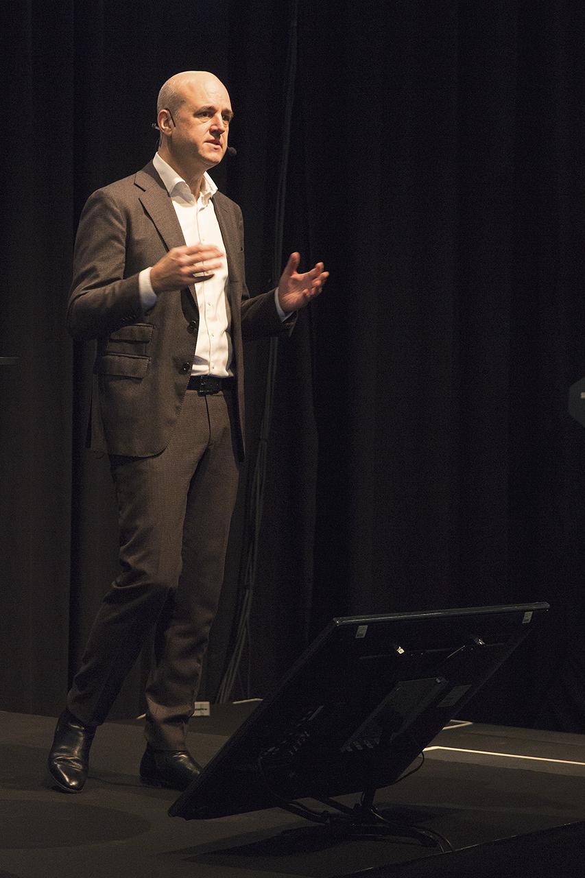 Ordförande Fredrik Reinfeldt