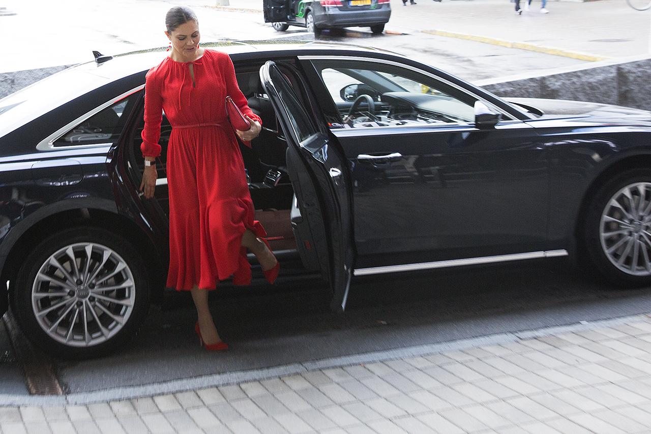Kronprinsessan Victoria till Stockholmsmässan