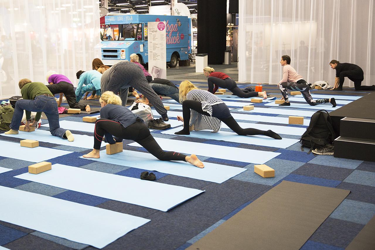 Prova på yoga, van som ovan