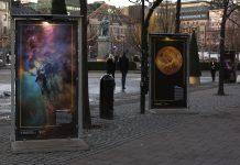 Fotoutställningen Fenomenala rymdbilder.