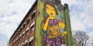 Fasadgavelmålning Fiskargatan