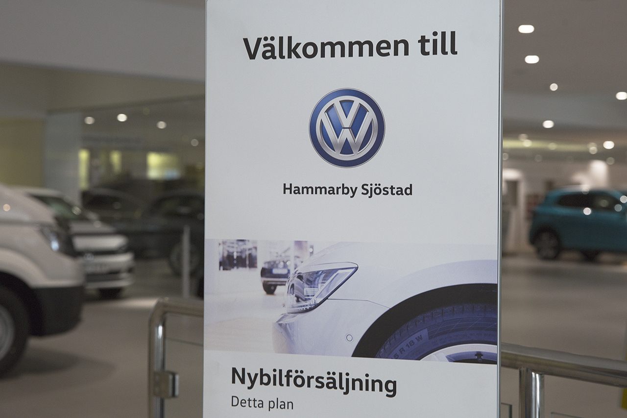 Välkommen till Volkswagen Hammarby Sjöstad