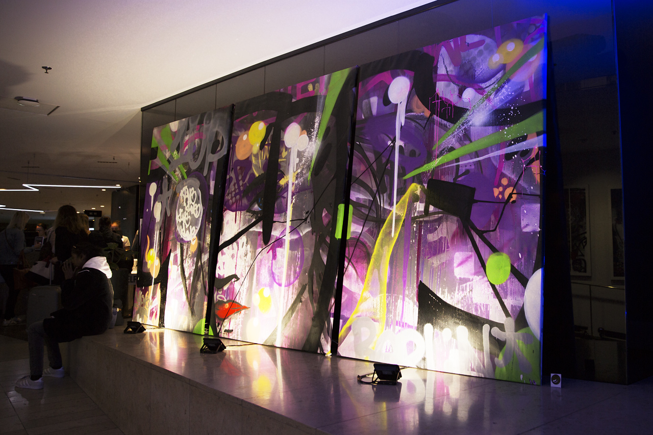 3 x colorpaintings hos Clarion Stockholm