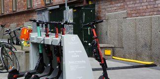 Hotspots för elsparkscyklar i Stockholm
