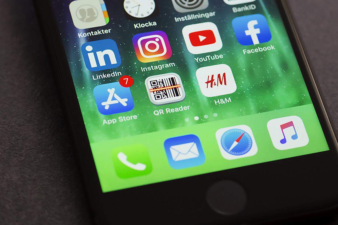 H&M App i Iphone