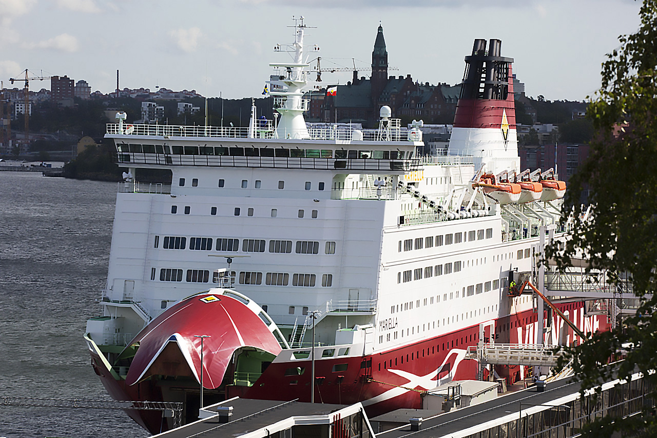 Viking Line front