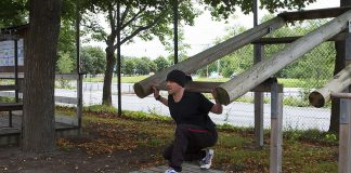 Utegym utmaning dag 30- Träningsprogram knäböj