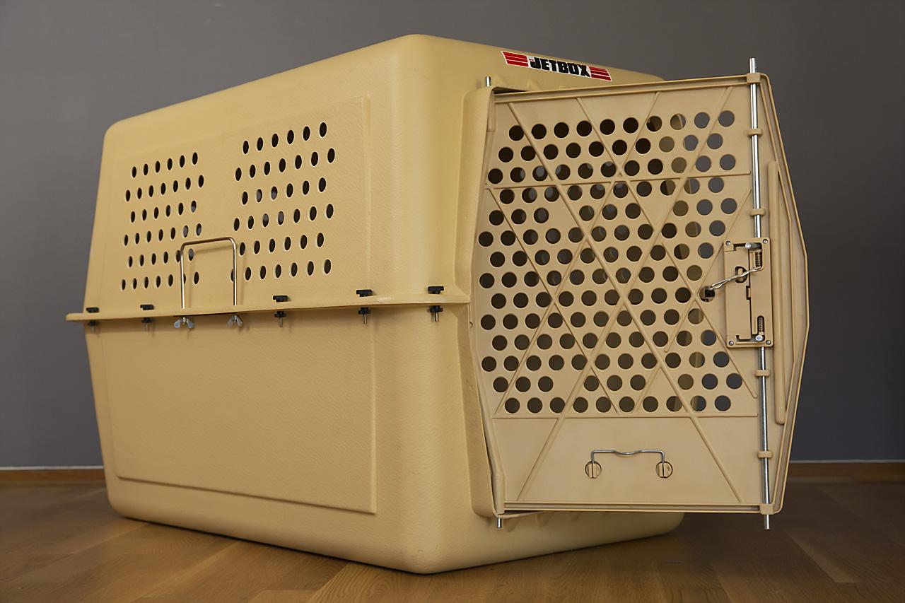 Jetbox hundbur för flygtransporter