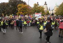 Kurdisk demonstration från Norra Bantorget till Mynttorget