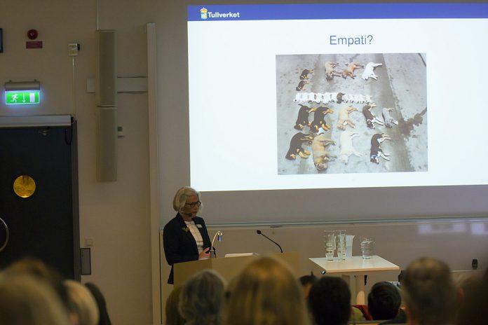 Tullverket med vid seminarium i Sveriges lantbruksuniversitet