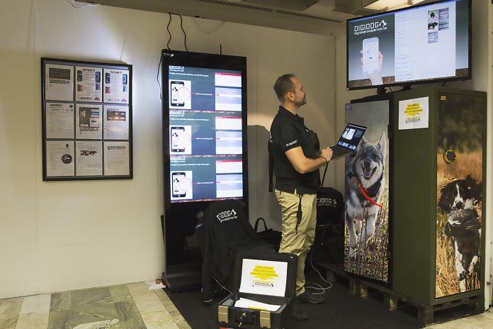Digidog Digitala hundpärmen visades på Hundmässan