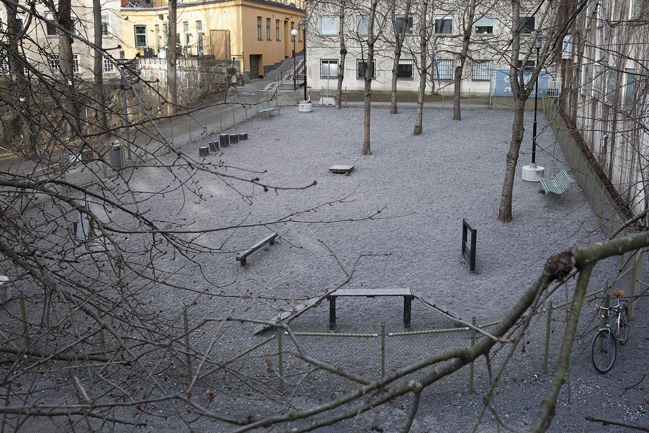 Hundrastgård vid Fatburstrappan
